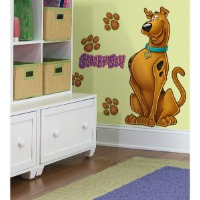 Picture of a large Scooby Doo wall decal.