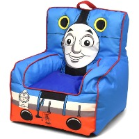 Picture of a Thomas the Train soft chair.