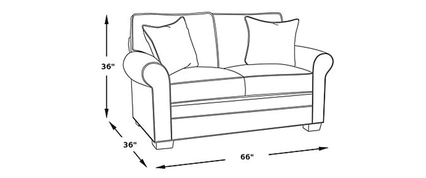 Standard Loveseat Dimensions: Picking The Ideal Loveseat Size
