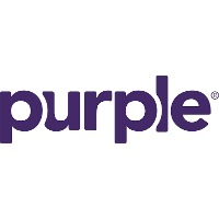 Purple mattress brand logo
