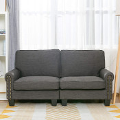 Photo of a loveseat