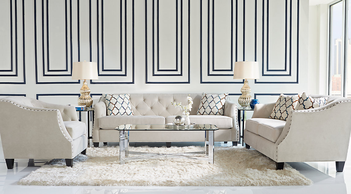 Sofia Vergara Furniture Living Room Set