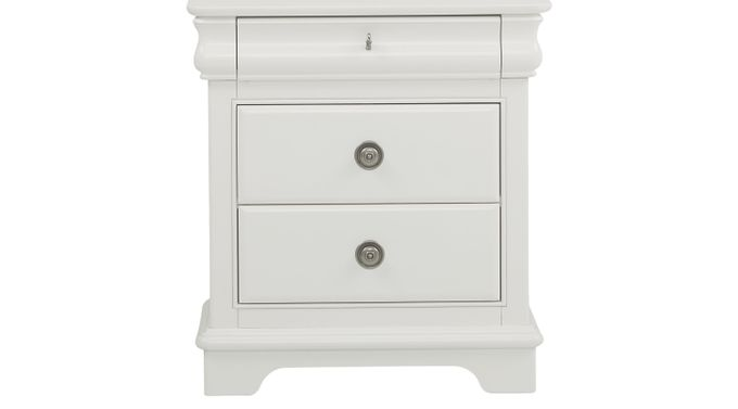 Oberon White Nightstand