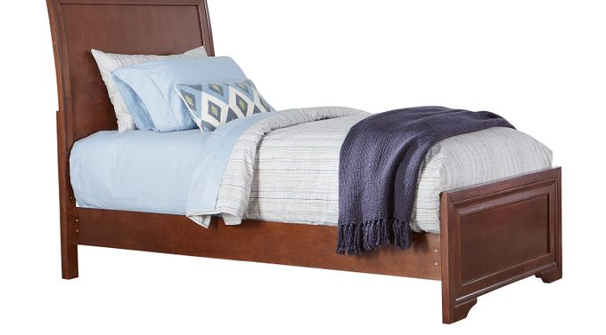 Belcourt Jr. Cherry 3 Pc Twin Sleigh Bed