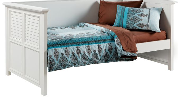 Belmar White 3 Pc Twin Daybed
