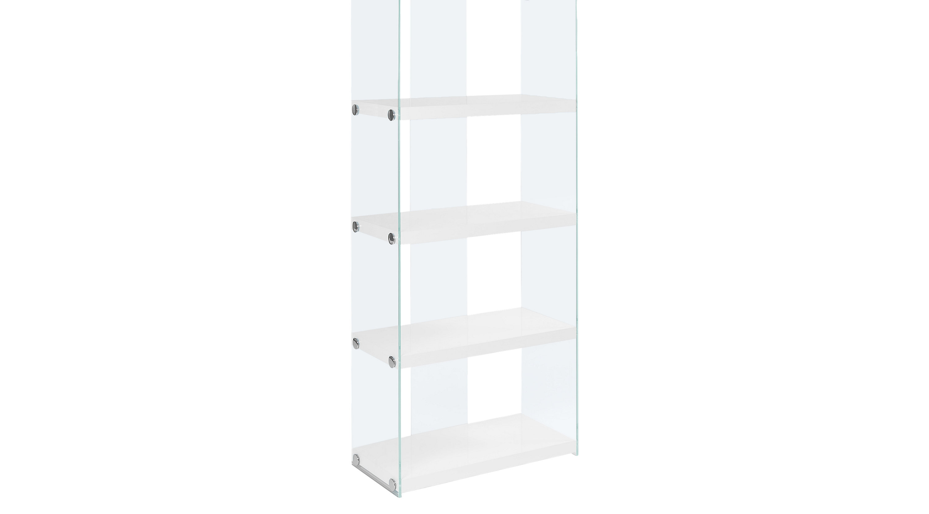 Mitchwin White Bookcase