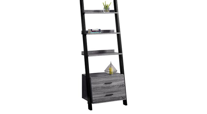 Singleton Gray Bookcase