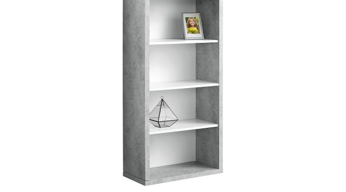 Tarpley Gray Bookcase