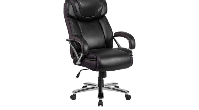 Marvin Black Desk Chair - Traditional