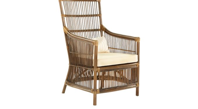 Breezy Acres Brown Chair - Casual, Cotton