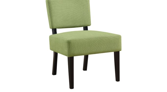 Crestover Green Accent Chair - Upholstered - Contemporary, Polyester