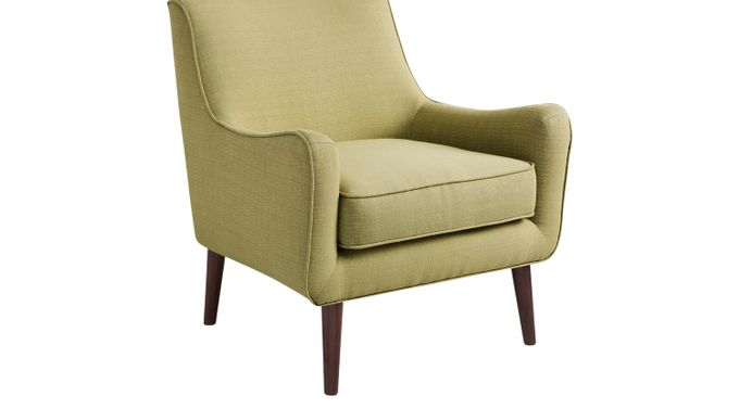 Frostwood Green Accent Chair - Upholstered - Contemporary, Polyester