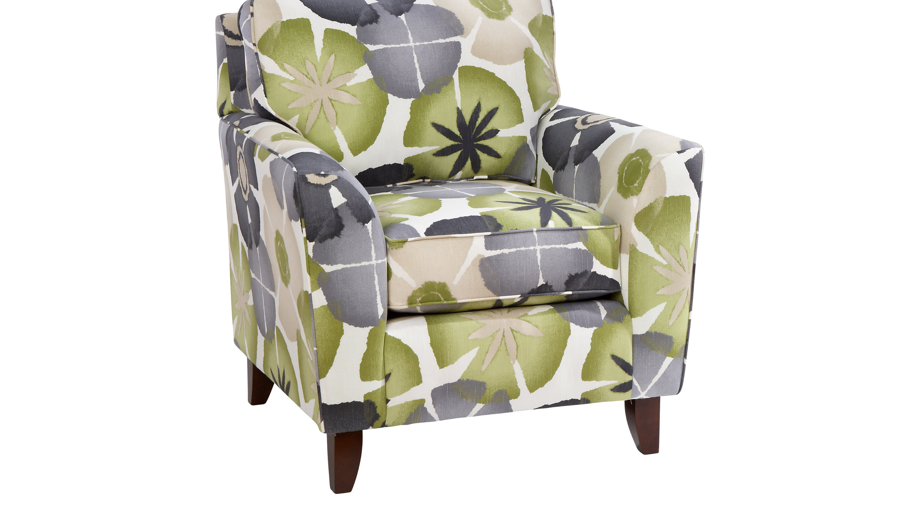Lilith Pond Taupe Accent Chair