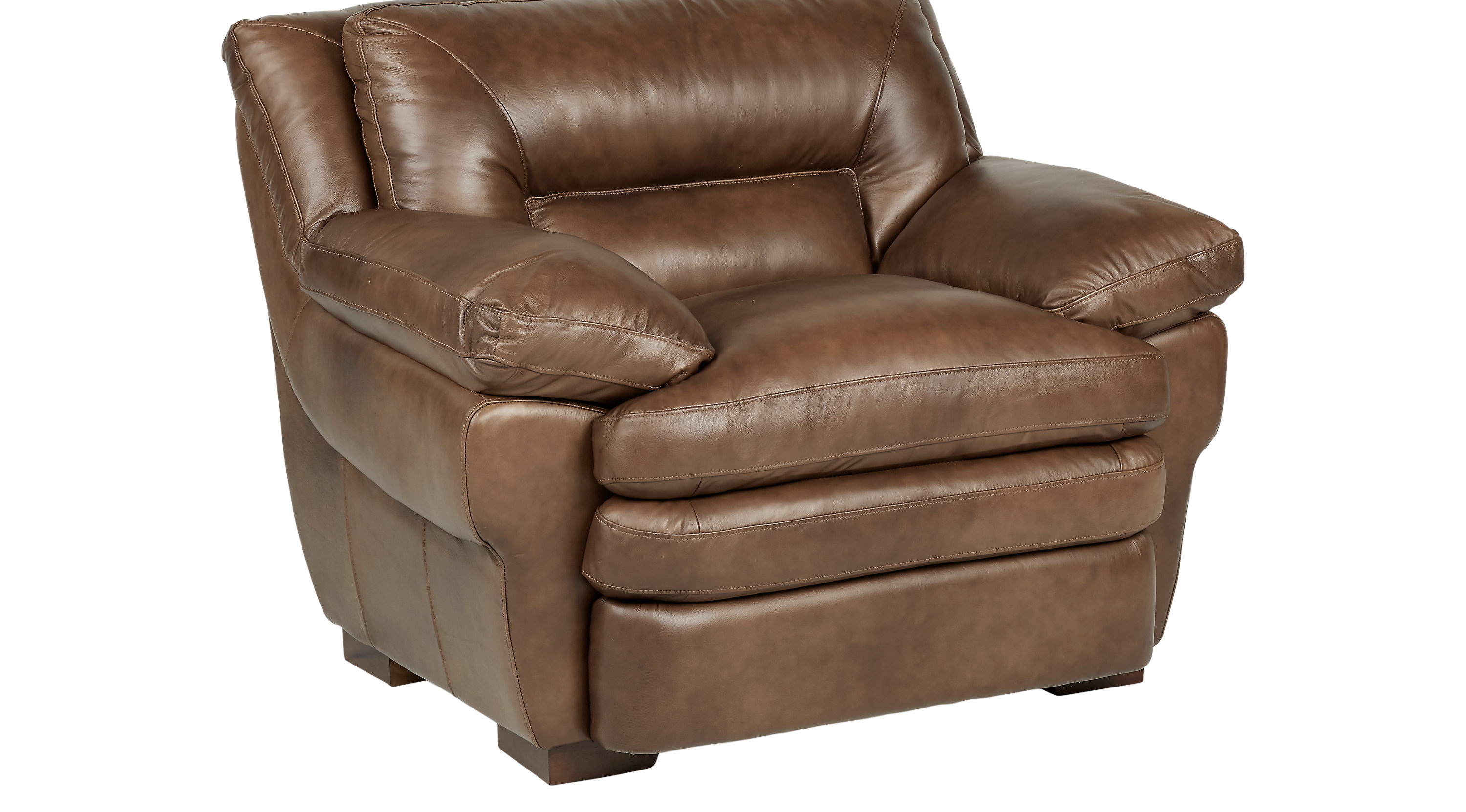 Aventino Tobacco Leather Chair