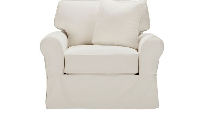 Beachside Natural (cream)  Chair - Casual, Cotton