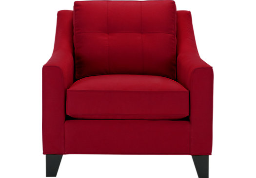Madison Place Cardinal Chair - Classic - Contemporary, MicroFiber