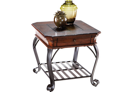 Coronado Bay Pine End Table