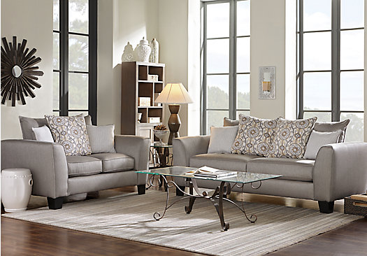 taupe couch living room 788 00 bridgeport taupe grayish brown 5 pc living 15370