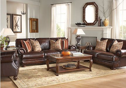 Traditional Leather Living Room Furniture kentfield traditional living room furniture collection