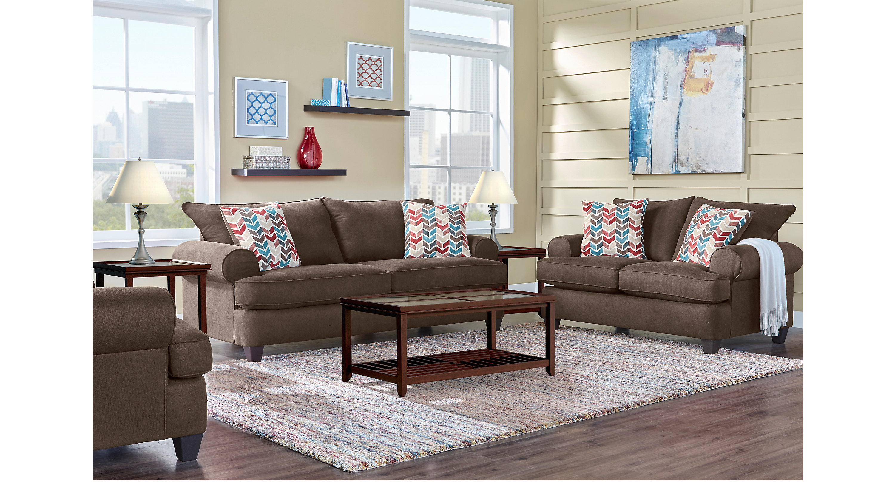 1 park square coffee 8 pc living room classic