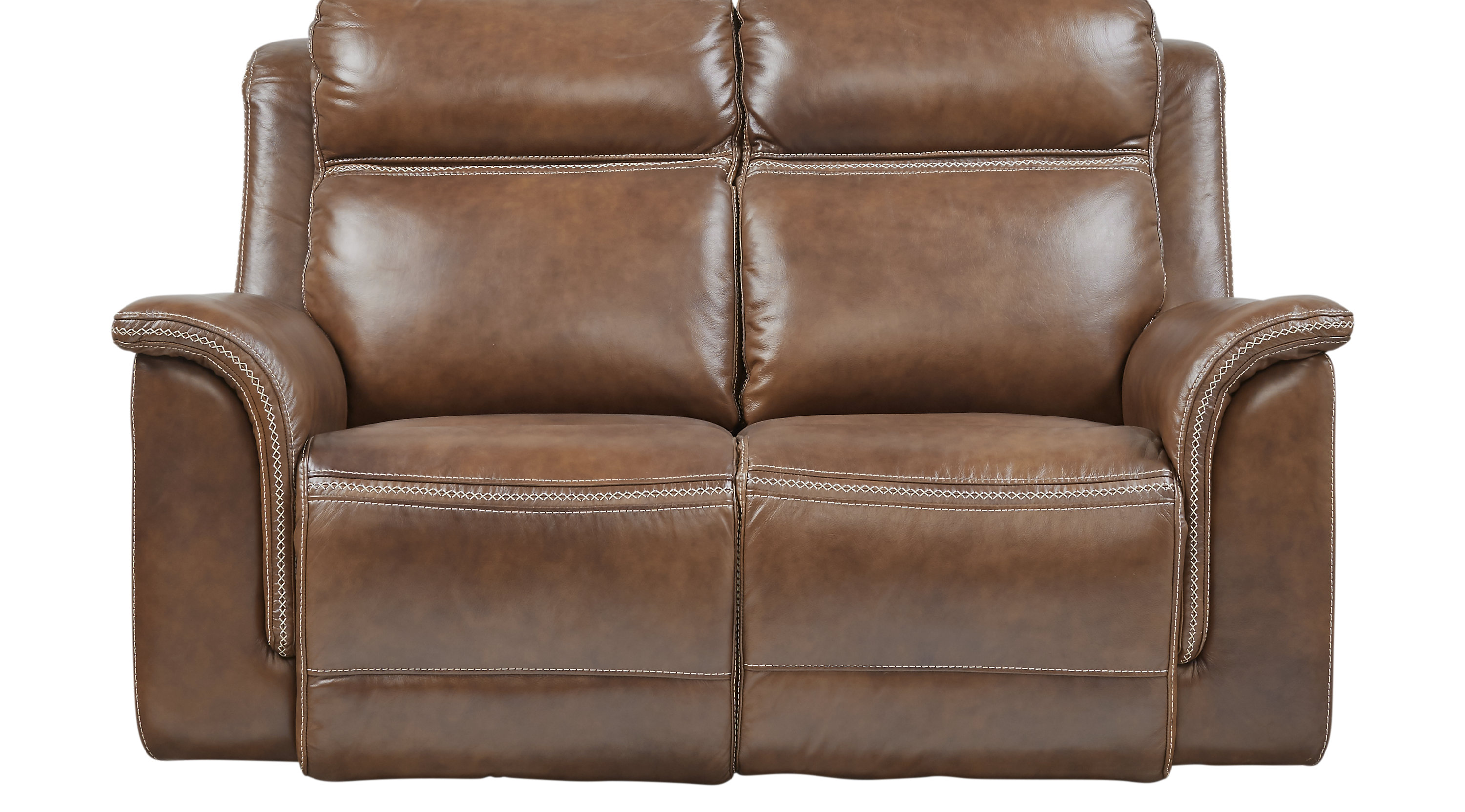 leather tan products gustav loveseat scandinavian designs new