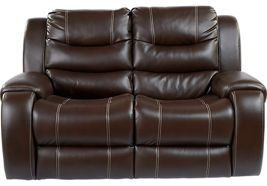Baycliffe Brown Loveseat
