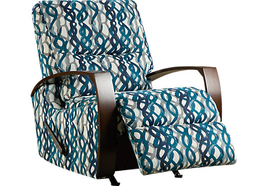 599 99 Basque Turquoise Accent Recliner Reclining