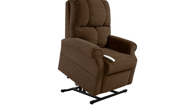 Baytown Chocolate (brown)  Lift Chair Recliner - Contemporary, Chenille