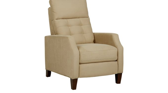 Bromfield Brown Pushback Recliner - Reclining - Contemporary, Microfiber