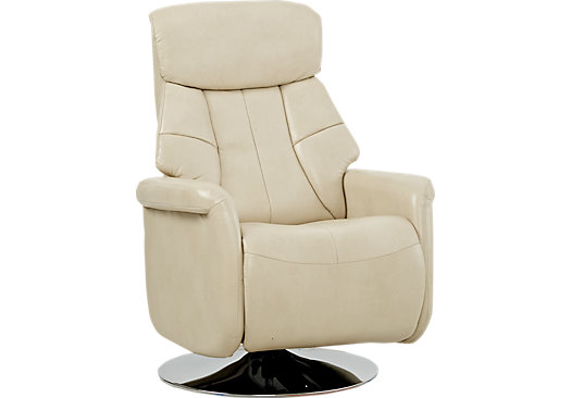 Croxley Beige Swivel Recliner  sc 1 st  Furniture.com : recliners under 300 - islam-shia.org