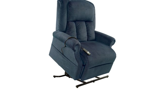 Eagle Point Ocean (blue)  Lift Chair Recliner - Contemporary, Polyester