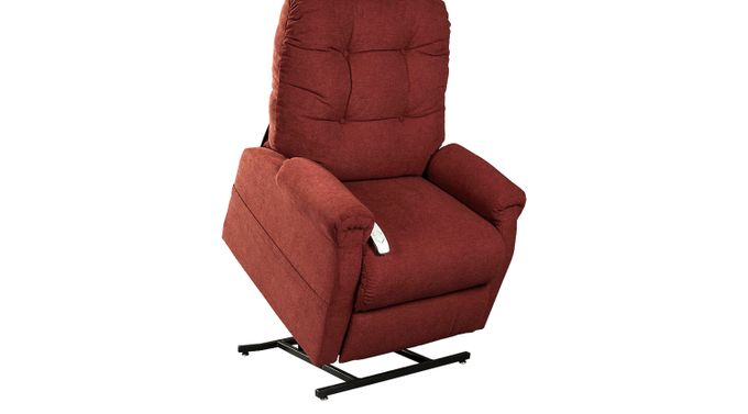 Ingram Chianti (maroon)  Lift Chair Recliner - Casual, Polyester