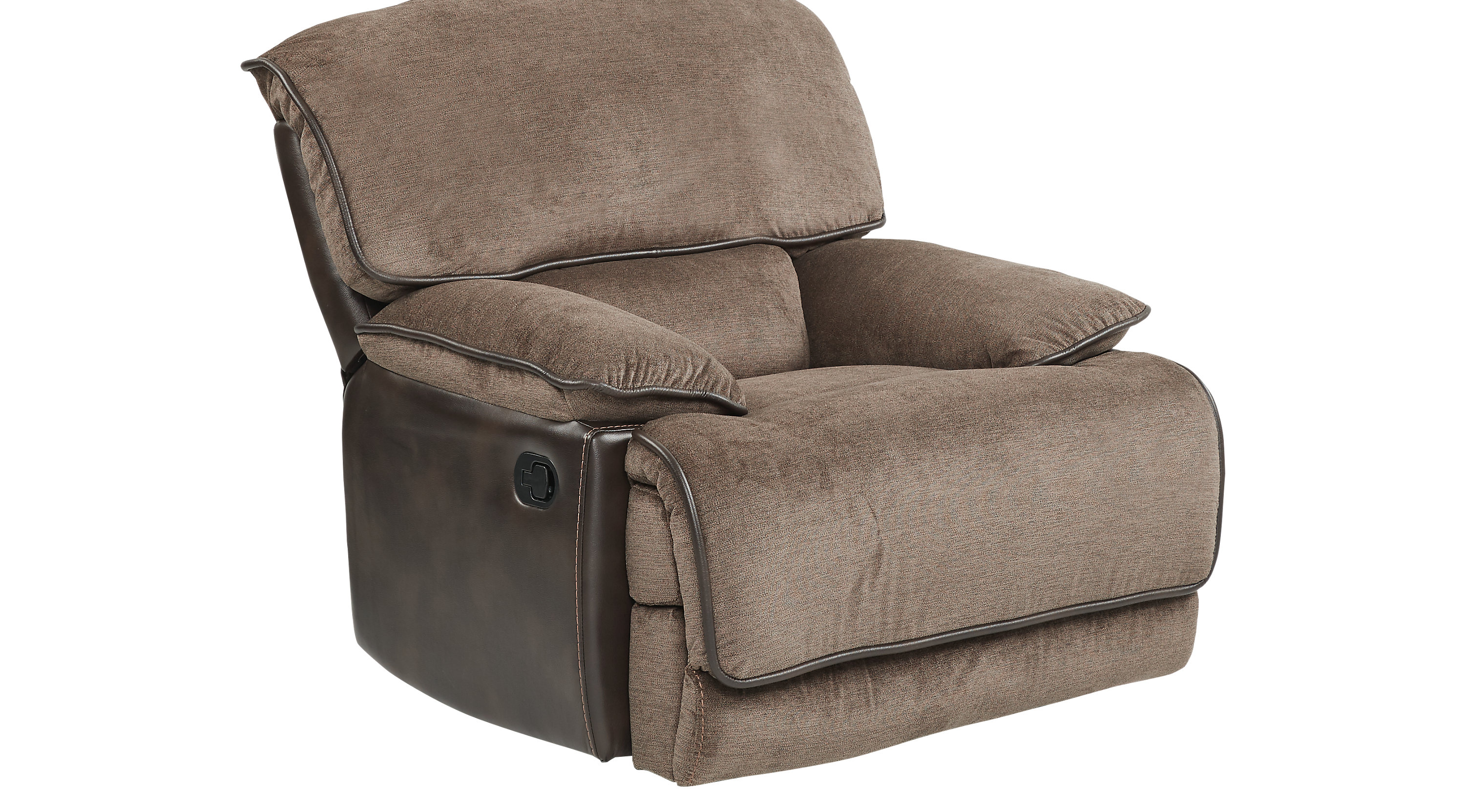 Riverbrook Coffee Glider Recliner