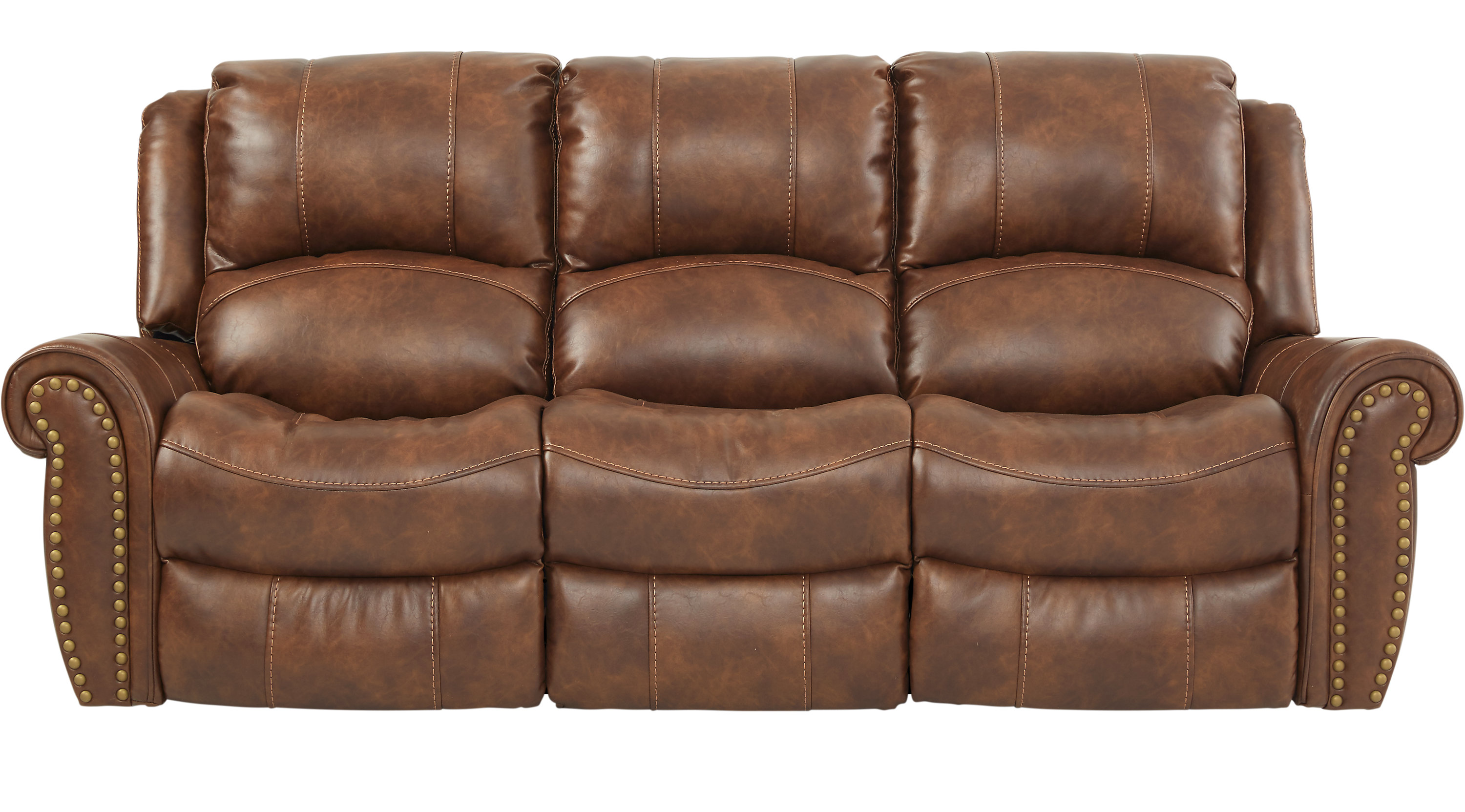 688 00 Alden Point Brown Reclining Sofa Traditional Polyester ~ Baycliffe Reclining Sofa Reviews