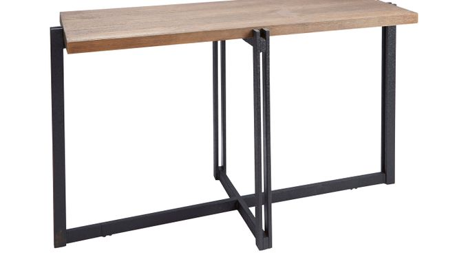 Davinwood Brown Console Table - Contemporary