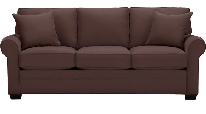 Bellingham Chocolate (brown)  Sofa - Classic - Contemporary, Microfiber