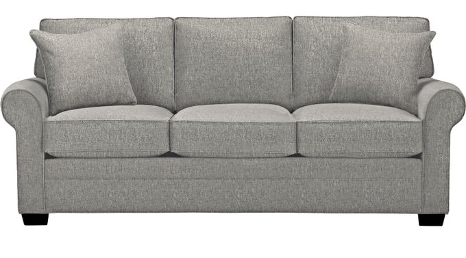 Bellingham Gray Sofa - Classic - Contemporary, Textured