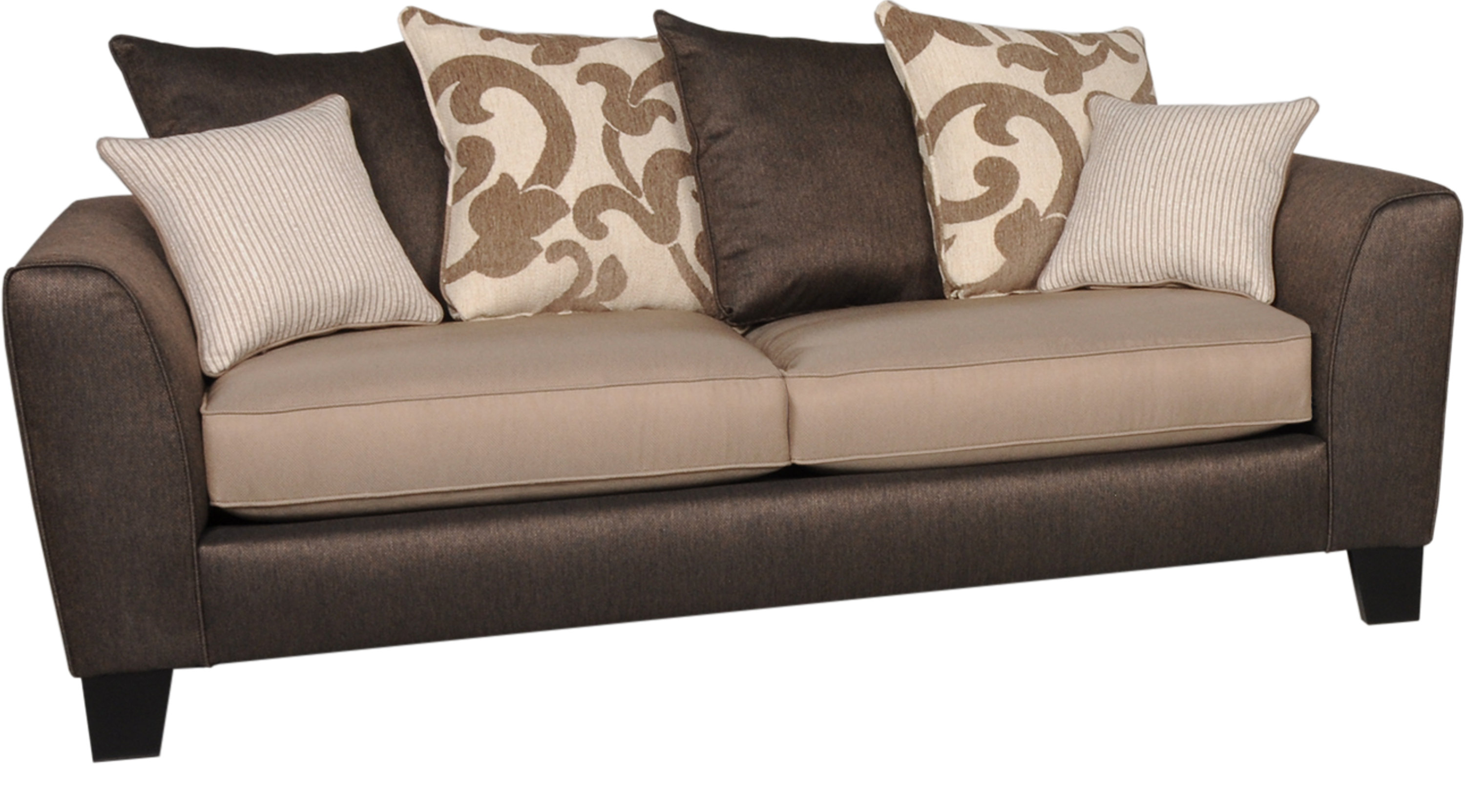 Copley Square Brown Sofa