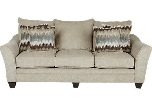 Madeley Oatmeal Sofa - Classic - Contemporary, Textured