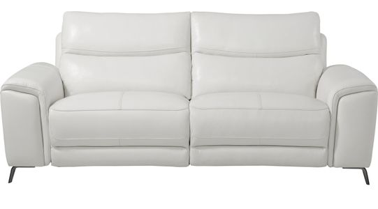 White Leather Sofas & Couches