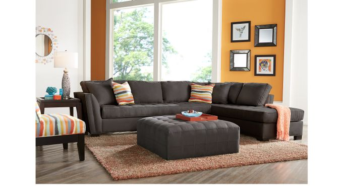 1 999 99 Calvin Heights Xl Slate Gray 3 Pc Sectional