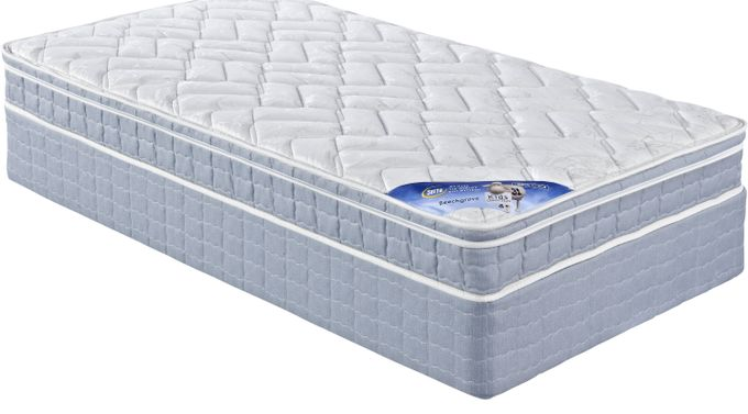 Serta Beechgrove Full Mattress Set - Euro Pillowtop