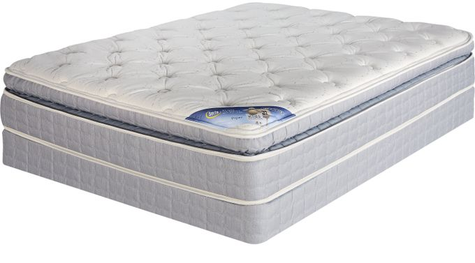 Serta Perfect Sleeper Piper Low Profile Full Mattress Set
