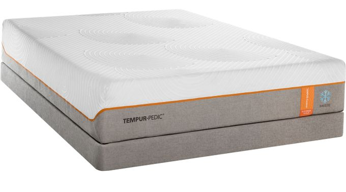TEMPUR-Contour Elite Breeze King Mattress Set - Memory Foam