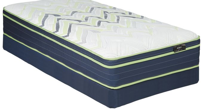 Kingsdown Sleeping Beauty Noble Twin Mattress Set - Plush