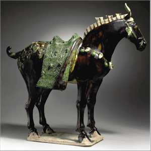 Horse Covers, Pile, Flatweave and Tang Dynasty Pottery