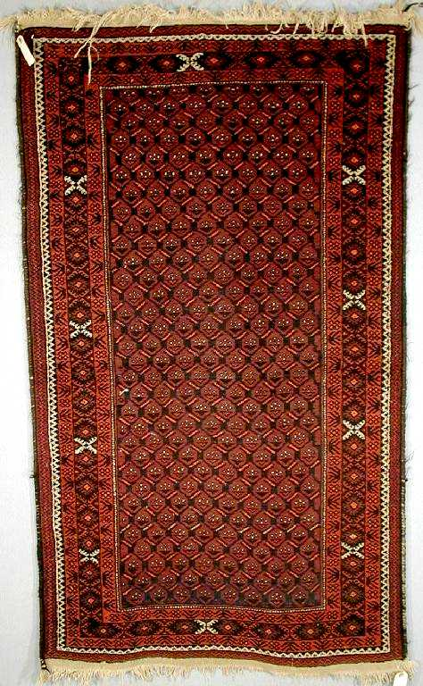 Baluch Rugs: Mashad Baluch Rug North East Persia C. 1930