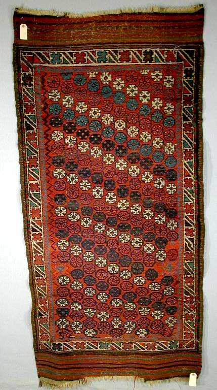 Unusual Baluch Rug Northeast Persia late 19th C.