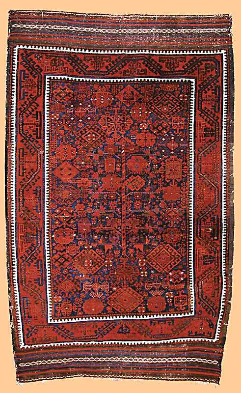 Baluch Rug, North East Persia