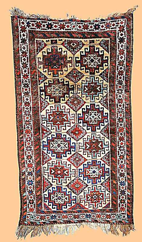 Baluch Rug, North East Persia, late 19th C.